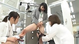 Asian Japanese In Anal Threesome
