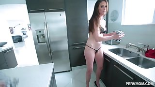 After dick licking Sofie Marie sits on a boyfriend's hard public house