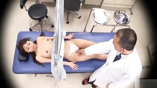Japanese girl gets her pussy checked out give detail!