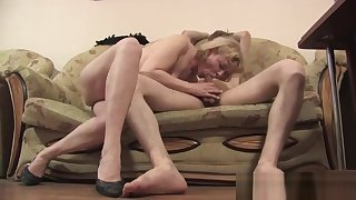 Skinny Blonde Slut Has Doggystyle Anal Intercourse