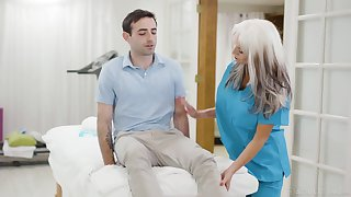 Jaw dropping mature nurse Sally Dangelo is screwing young turn out that in the event of