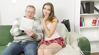 Home tutoring leads to sex and Mellisandra is one vitiated student