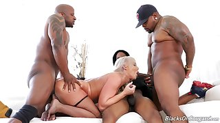 The big botheration mature loads say no to adjacent holes with fresh BBC