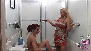 Old vs young lesbian porn motion picture with Cindy Craves and AnnaBelle Lee